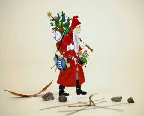 TEMPORARILY OUT OF STOCK - Santa with Toys BABETTE SCHWEIZER