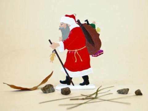 Santa Claus with Sack' BABETTE SCHWEIZER