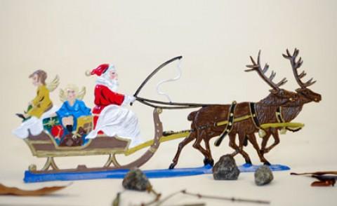 TEMPORARILY OUT OF STOCK - Santa's Sleigh BABETTE SCHWEIZER