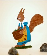 Squirrel Elli Standing Pewter BABETTE SCHWEIZER - TEMPORARILY OUT OF STOCK