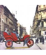 Horch Tonneau 1903' Standing Pewter BABETTE SCHWEIZER