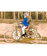 Daimler Motorrad' Standing Pewter BABETTE SCHWEIZER