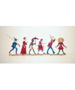 Zinnfiguren-Pewter Ornament 'Struwwelpeter' 'Struwwelpeterei' BABETTE SCHWEIZER