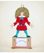 TEMPORARILY OUT OF STOCK - Zinnfiguren-Pewter Ornament  'Struwwelpeter'  'Shock-Headed Pete