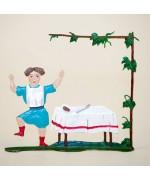 Zinnfiguren-Pewter Ornament 'Struwwelpeter' 'Suppenkaspar' BABETTE SCHWEIZER