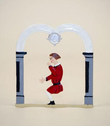 Zinnfiguren-Pewter Ornament  'Struwwelpeter'  'Daumenlutscher'  BABETTE SCHWEIZER