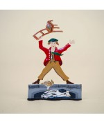 Zinnfiguren-Pewter Ornament 'Struwwelpeter' 'Boese Friederich' BABETTE SCHWEIZER