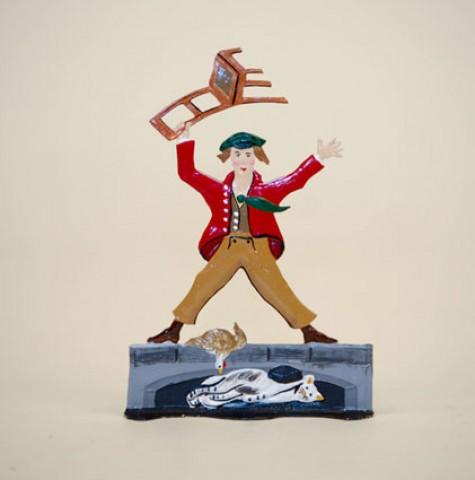 Zinnfiguren-Pewter Ornament  'Struwwelpeter'  'Boese Friederich'  BABETTE SCHWEIZER  - TEMPORARILY OUT OF STOCK