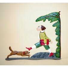 Zinnfiguren-Pewter Ornament 'Struwwelpeter' 'Hans-Guck-in die Luft' BABETTE SCHWEIZER