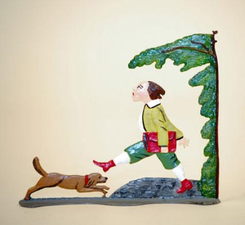 Zinnfiguren-Pewter Ornament  'Struwwelpeter'  'Hans-Guck-in die Luft'  BABETTE SCHWEIZER  - TEMPORARILY OUT OF STOCK