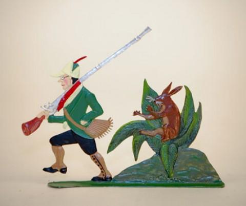 Zinnfiguren-Pewter Ornament  'Struwwelpeter'  'Wilder JÃ