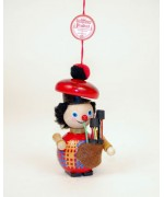 TEMPORARILY OUT OF STOCK - Scottish Bagpiper Wooden Ornament Christian Steinbach