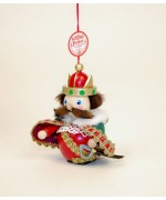 TEMPORARILY OUT OF STOCK - Prince Wooden Ornament Christian Steinbach
