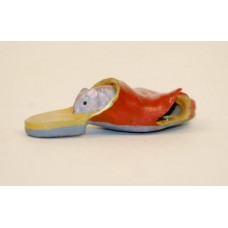 Vienna Bronze Mouse in a Shoe Miniature Figure