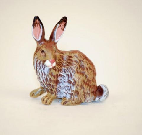 Easter Bunnies Vienna Bronze Rabbit Laying Down