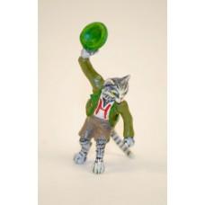 Vienna Bronze Cat Gentleman Miniature Figure - Irish