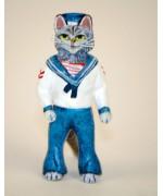 Vienna Bronze 'Sailor Cat'