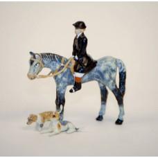 Vienna Bronze 'Fox Hunter with  his Hounds'