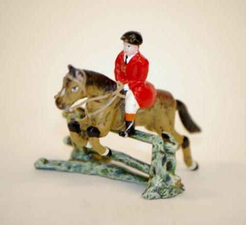 Vienna Bronze Jumping Horse