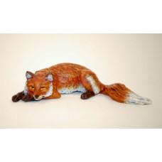 Vienna Bronze Fox Lying