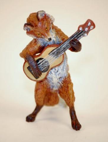 Vienna Bronze Guitar Fox