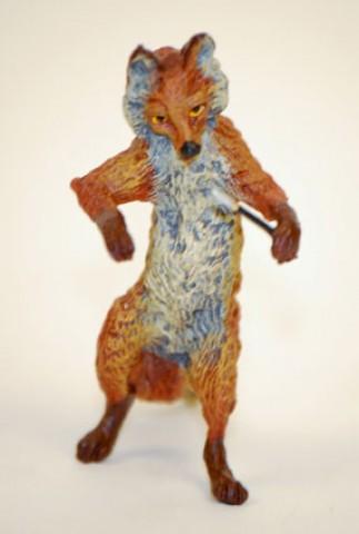 Vienna Bronze Fox Conductor