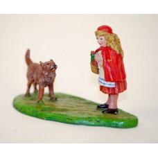 Vienna Bronze Little Red Riding Hood