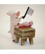 Vienna Bronze 'Pig Butcher'