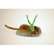 Vienna Bronze 'Frog on Lilypad'