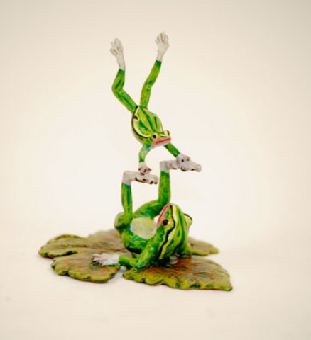 Vienna Bronze 'Frog tricks'