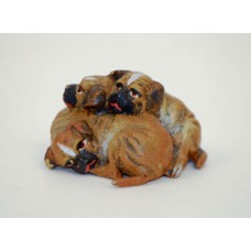 TEMPORARILY OUT OF STOCK <BR><BR>  Vienna Bronze 'Puppy Pile'