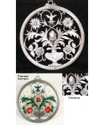 TEMPORARILY OUT OF STOCK <BR><BR> Wilhelm Schweizer Unpainted Pewter Window Wall Hanging 'Tree of