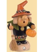 TEMPORARILY OUT OF STOCK - Mueller Smokerman Erzgebirge Halloween Witch