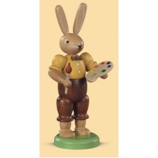 Mueller Easter Bunny With his Colorful Paint Palette - TEMPORARILY OUT OF STOCK