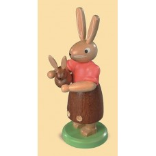 Mueller Easter Bunny Mama Rabbit with Baby Bunny