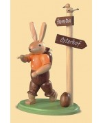 TEMPORARILY OUT OF STOCK - Mueller Easter Bunny do some traveling