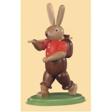 Mueller Easter Bunny Carrying Carrots and Eggs