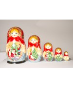The Night Before Christmas Nesting Doll G. DeBrekht - TEMPORARILY OUT OF STOCK