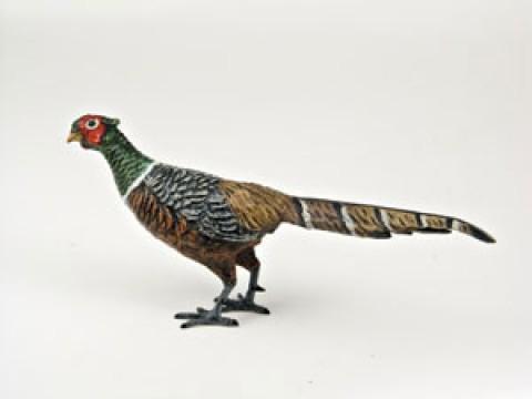 Vienna Bronze Pheasant Figure