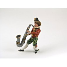TEMPORARILY OUT OF STOCK - Vienna Bronze 'Man playing the Saxophone' Miniature Figure
