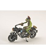 Vienna Bronze 'Frog on the Motorbike' - TEMPORARILY OUT OF STOCK