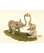Vienna Bronze 'Elephants playing Ball'