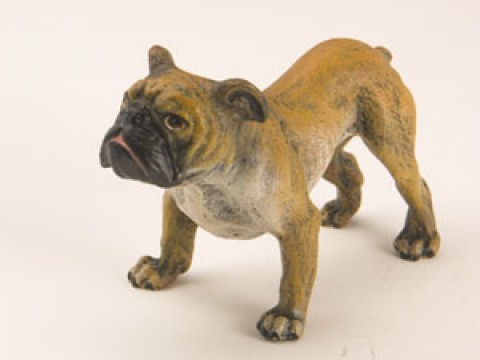 TEMPORARILY OUT OF STOCK <BR><BR>  Vienna Bronze 'Bull Dog'