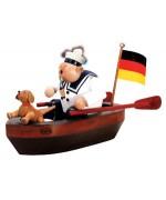 KWO Smokerman 'The German Sailor in his Boat'