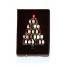 TEMPORARILY OUT OF STOCK - Swarovski Christmas Tree Brooch