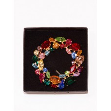 TEMPORARILY OUT OF STOCK - Swarovski Abstract Wreath Brooch
