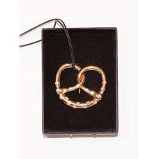 Swarovski Pretzel Necklace