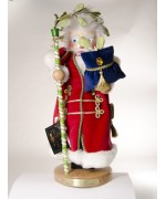 TEMPORARILY OUT OF STOCK - Mistletoe Santa Christmas Traditions Series Christian Steinbach
