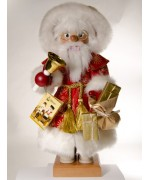 TEMPORARILY OUT OF STOCK <BR><BR> 'Noble Santa with Bell' Christian Ulbricht