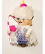 TEMPORARILY OUT OF STOCK - Sugar Plum Fairy Wooden Ornament Christian Steinbach